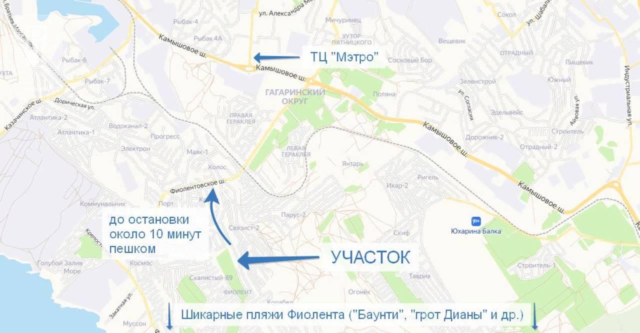 г. Севастополь СТ Клеры-2