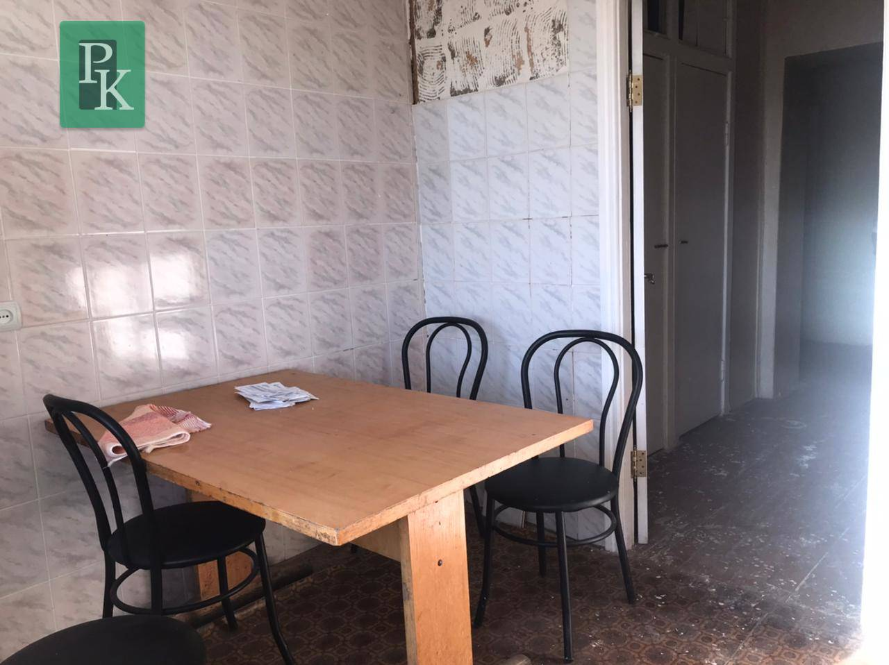 Трёхкомнатная квартира в Бахчисарайский р-н, с. Песчаное